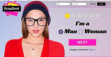snapsext.com site