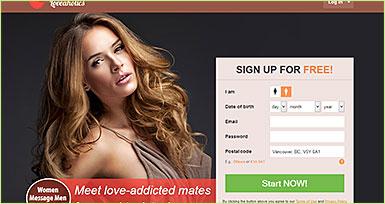 Loveaholics.com site