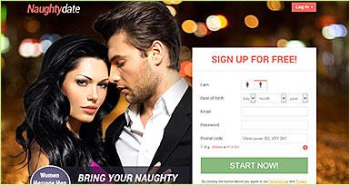 NaughtyDate.com site