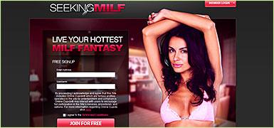 Seekingmilf.com website