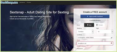 Sextsnap.me site